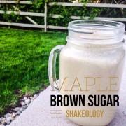 Maple Brown Sugar ShakeO