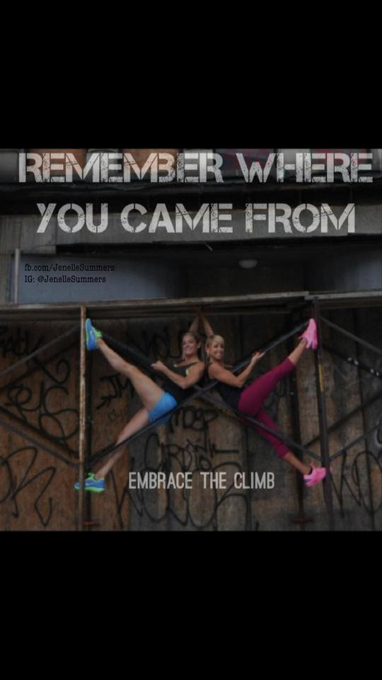 Remember Where You Came From Jenelle Summers